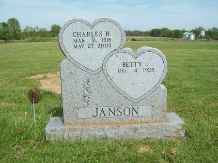 GLOVER JANSON, BETTY J. - Trumbull County, Ohio | BETTY J. GLOVER JANSON - Ohio Gravestone Photos