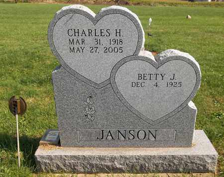 JANSON, BETTY J. - Trumbull County, Ohio | BETTY J. JANSON - Ohio Gravestone Photos