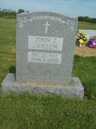 JANSON, JOHN J. - Trumbull County, Ohio | JOHN J. JANSON - Ohio Gravestone Photos