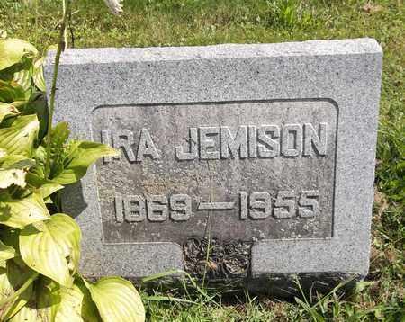 JEMISON, IRA - Trumbull County, Ohio | IRA JEMISON - Ohio Gravestone Photos