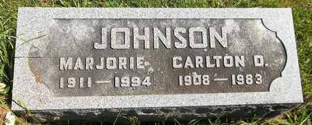 JOHNSON, CARLTON D. - Trumbull County, Ohio | CARLTON D. JOHNSON - Ohio Gravestone Photos