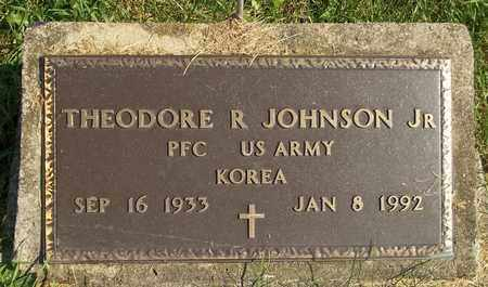 JOHNSON, THEODORE R., JR. - Trumbull County, Ohio | THEODORE R., JR. JOHNSON - Ohio Gravestone Photos