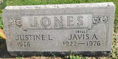 JONES, JUSTINE L. - Trumbull County, Ohio | JUSTINE L. JONES - Ohio Gravestone Photos