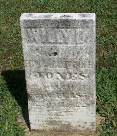 JONES, WILLY D. - Trumbull County, Ohio   WILLY D. JONES - Ohio Gravestone Photos