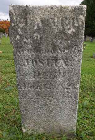 JOSLIN, EDWARD - Trumbull County, Ohio   EDWARD JOSLIN - Ohio Gravestone Photos