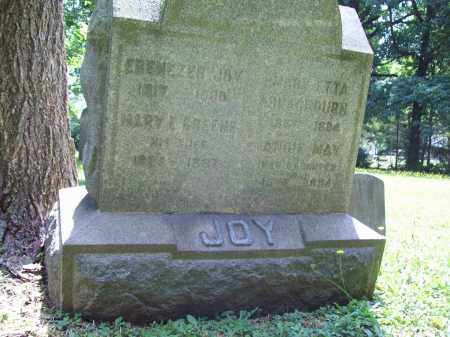 JOY, EBENEZER - Trumbull County, Ohio | EBENEZER JOY - Ohio Gravestone Photos