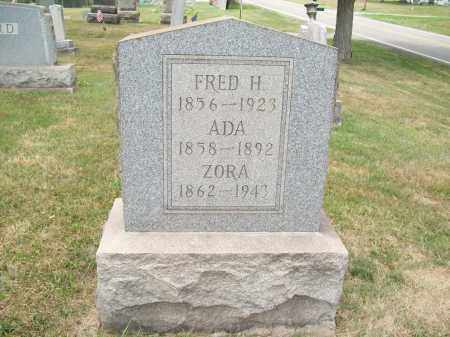 JOY, ZORA - Trumbull County, Ohio | ZORA JOY - Ohio Gravestone Photos