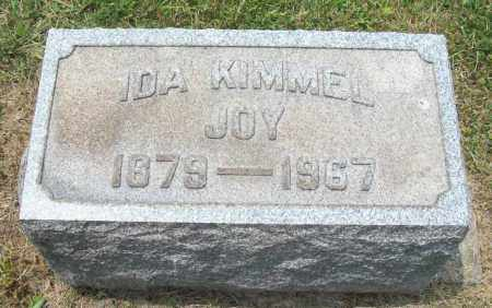KIMMEL JOY, IDA - Trumbull County, Ohio | IDA KIMMEL JOY - Ohio Gravestone Photos