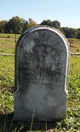 KAGY, ABRAHAM - Trumbull County, Ohio | ABRAHAM KAGY - Ohio Gravestone Photos
