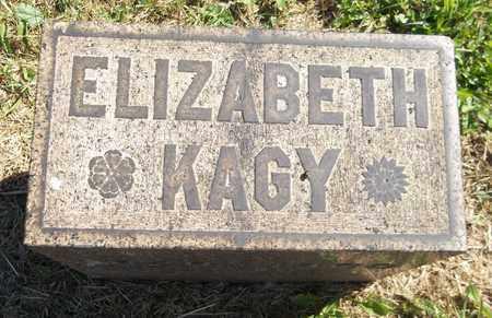 KAGY, ELIZABETH - Trumbull County, Ohio | ELIZABETH KAGY - Ohio Gravestone Photos