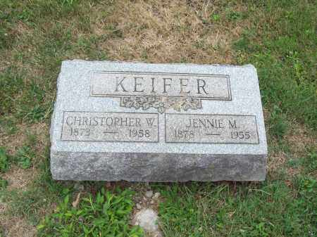 KEIFER, JENNIE M. - Trumbull County, Ohio | JENNIE M. KEIFER - Ohio Gravestone Photos