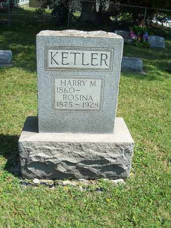 KETLER, HARRY M. - Trumbull County, Ohio | HARRY M. KETLER - Ohio Gravestone Photos