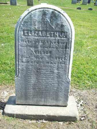 GILSON KEYSER, ELIZABETH J. - Trumbull County, Ohio | ELIZABETH J. GILSON KEYSER - Ohio Gravestone Photos