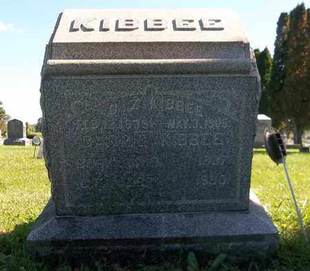 KIBBEE, ORMOND Z. - Trumbull County, Ohio | ORMOND Z. KIBBEE - Ohio Gravestone Photos