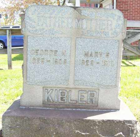 KIBLER, MARY E. - Trumbull County, Ohio | MARY E. KIBLER - Ohio Gravestone Photos