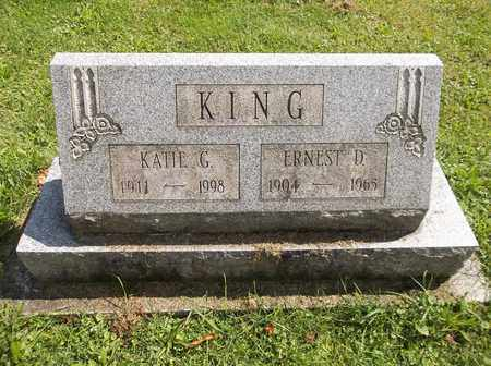 KING, ERNEST D. - Trumbull County, Ohio | ERNEST D. KING - Ohio Gravestone Photos