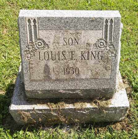 KING, LOUIS E. - Trumbull County, Ohio | LOUIS E. KING - Ohio Gravestone Photos