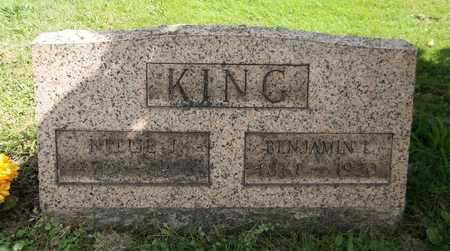 KING, BENJAMIN L. - Trumbull County, Ohio | BENJAMIN L. KING - Ohio Gravestone Photos