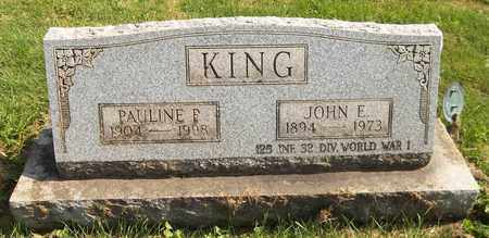 KING, PAULINE P. - Trumbull County, Ohio | PAULINE P. KING - Ohio Gravestone Photos
