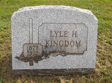 KINGDOM, LYLE H. - Trumbull County, Ohio | LYLE H. KINGDOM - Ohio Gravestone Photos