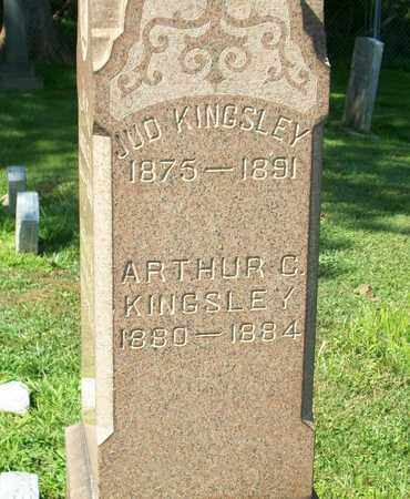 KINGSLEY, JUD - Trumbull County, Ohio | JUD KINGSLEY - Ohio Gravestone Photos