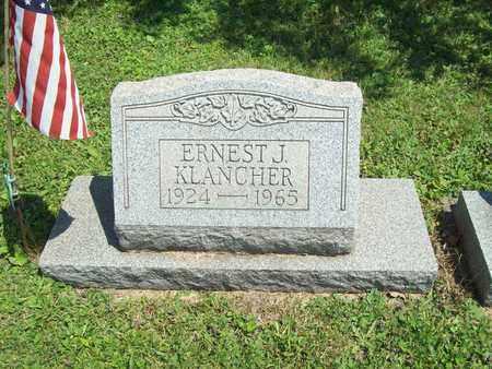 KLANCHER, ERNEST J. - Trumbull County, Ohio | ERNEST J. KLANCHER - Ohio Gravestone Photos