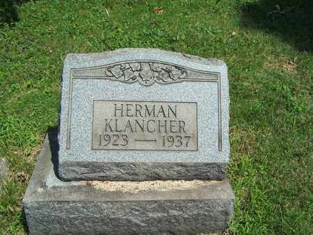 KLANCHER, HERMAN - Trumbull County, Ohio | HERMAN KLANCHER - Ohio Gravestone Photos