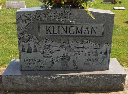 KLINGMAN, DONALD R. - Trumbull County, Ohio | DONALD R. KLINGMAN - Ohio Gravestone Photos