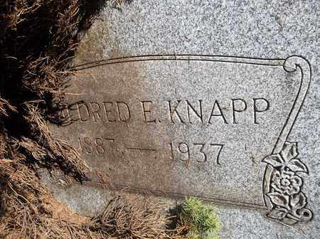 KNAPP, MILDRED E. - Trumbull County, Ohio | MILDRED E. KNAPP - Ohio Gravestone Photos