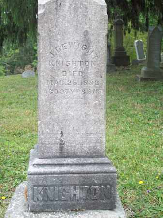 KNIGHTON, J. DEWIGHT - Trumbull County, Ohio | J. DEWIGHT KNIGHTON - Ohio Gravestone Photos