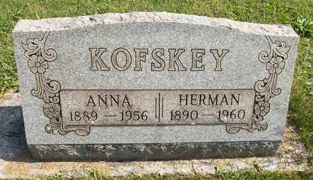 KOFSKEY, HERMAN - Trumbull County, Ohio | HERMAN KOFSKEY - Ohio Gravestone Photos