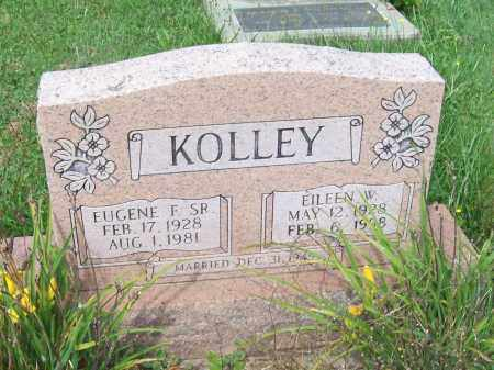 KOLLEY, EILEEN W. - Trumbull County, Ohio | EILEEN W. KOLLEY - Ohio Gravestone Photos