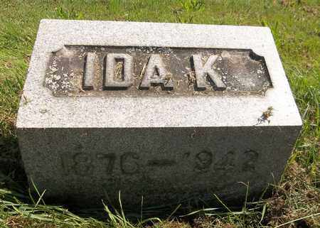 LAIRD, IDA K. - Trumbull County, Ohio | IDA K. LAIRD - Ohio Gravestone Photos