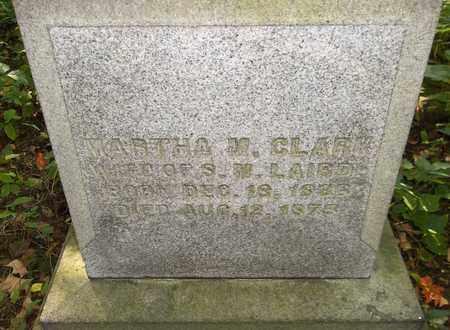 CLARK LAIRD, MARTHA M. - Trumbull County, Ohio | MARTHA M. CLARK LAIRD - Ohio Gravestone Photos