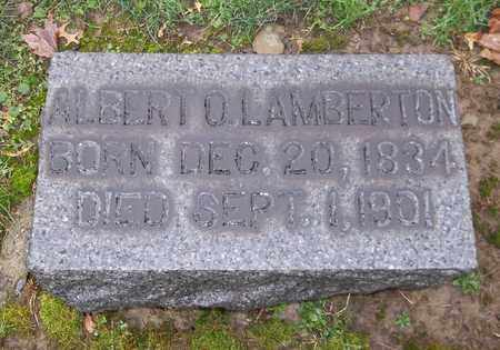 LAMBERTON, ALBERT - Trumbull County, Ohio | ALBERT LAMBERTON - Ohio Gravestone Photos