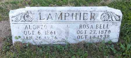 LAMPHIER, ALONZO A. - Trumbull County, Ohio | ALONZO A. LAMPHIER - Ohio Gravestone Photos
