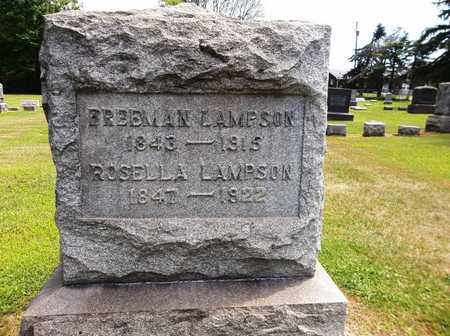 LAMPSON, FREEMAN - Trumbull County, Ohio | FREEMAN LAMPSON - Ohio Gravestone Photos