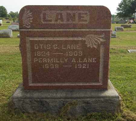 LANE, PERMILLY A. - Trumbull County, Ohio | PERMILLY A. LANE - Ohio Gravestone Photos