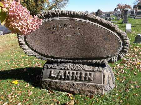 LANNIN, MARY A. - Trumbull County, Ohio | MARY A. LANNIN - Ohio Gravestone Photos