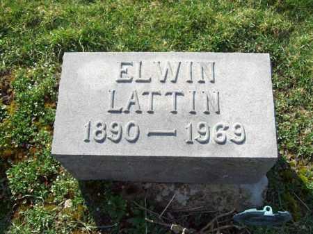LATTIN, ELWIN - Trumbull County, Ohio | ELWIN LATTIN - Ohio Gravestone Photos