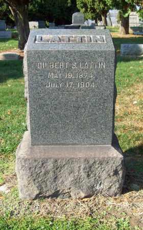 LATTIN, GILBERT S. - Trumbull County, Ohio | GILBERT S. LATTIN - Ohio Gravestone Photos