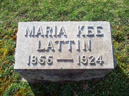 KEE LATTIN, MARIA - Trumbull County, Ohio | MARIA KEE LATTIN - Ohio Gravestone Photos