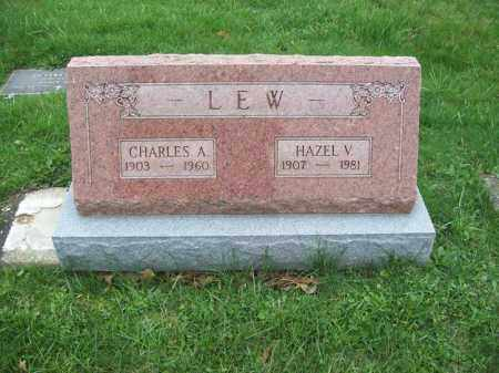 LEW, HAZEL V. - Trumbull County, Ohio | HAZEL V. LEW - Ohio Gravestone Photos