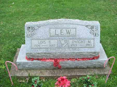 LEW, DWIGHT M. - Trumbull County, Ohio | DWIGHT M. LEW - Ohio Gravestone Photos