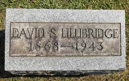 LILLIBRIDGE, DAVID S. - Trumbull County, Ohio | DAVID S. LILLIBRIDGE - Ohio Gravestone Photos