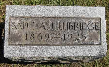 LILLIBRIDGE, SADIE A. - Trumbull County, Ohio | SADIE A. LILLIBRIDGE - Ohio Gravestone Photos
