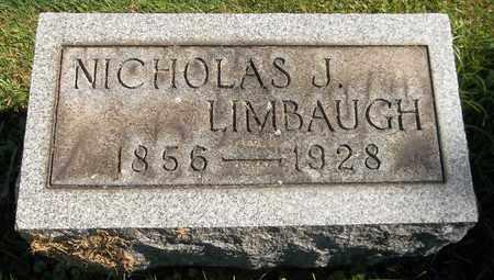 LIMBAUGH, NICHOLAS J. - Trumbull County, Ohio | NICHOLAS J. LIMBAUGH - Ohio Gravestone Photos