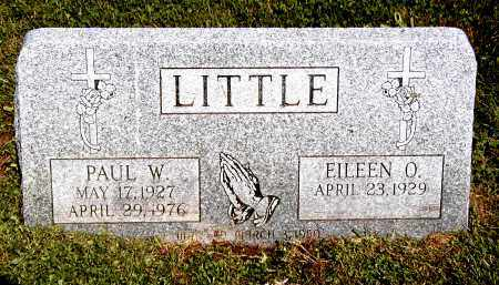 O'BRIAN LITTLE, EILEEN J - Trumbull County, Ohio | EILEEN J O'BRIAN LITTLE - Ohio Gravestone Photos