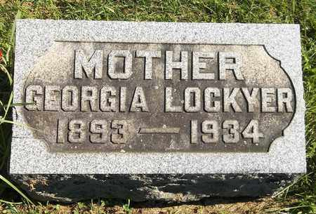 LOCKYEAR, GEORGIA - Trumbull County, Ohio | GEORGIA LOCKYEAR - Ohio Gravestone Photos