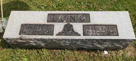 LONG, LUCY J. - Trumbull County, Ohio | LUCY J. LONG - Ohio Gravestone Photos